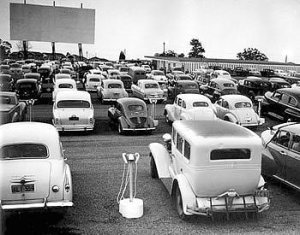 Cars at Drive in