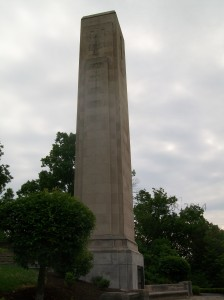 William H Harrison Tomb