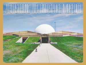 armstrong postcard