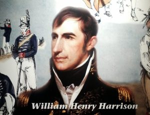 Wiliam Henry Harrison at Fort Meig