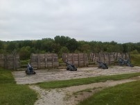 Fort Meigs cannons