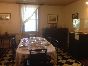 Patterson Homestead Dining room