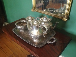 Patterson Homestead Silver set