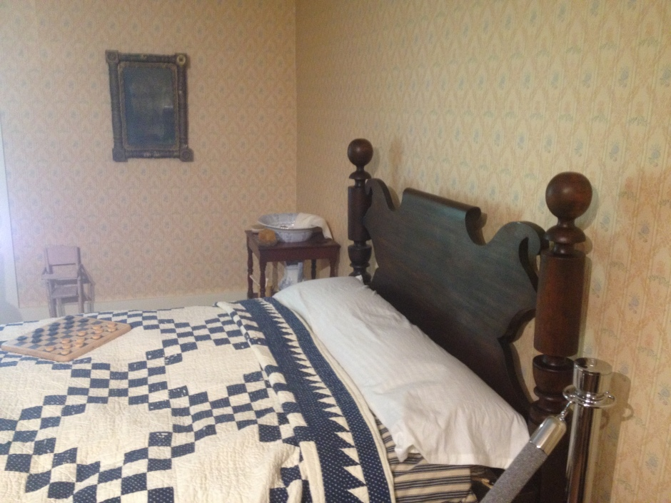 Patterson Homestead bed