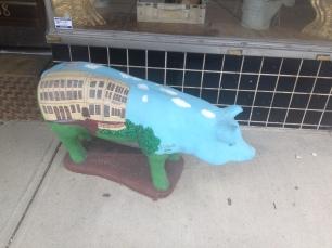 concrete pig