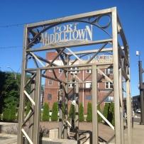 Port Middletown Sign